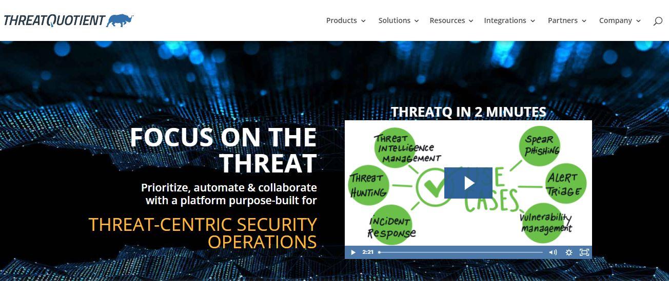 ThreadQuotient Cybersecurity Company