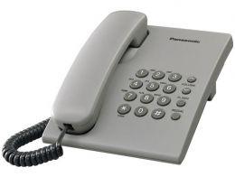 Panasonic - jednolinkový telefon šedý