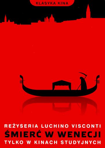 Przód ulotki filmu 'Śmierć W Wenecji'