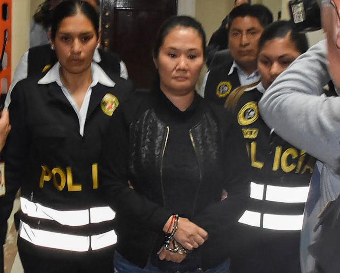 Keiko Fujimori es trasladada a una prisión de Lima | La Prensa Panamá