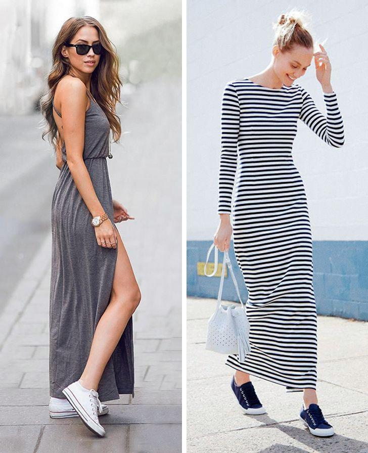 9 Ideas para vestidos largos que lucen más seductores que los cortos