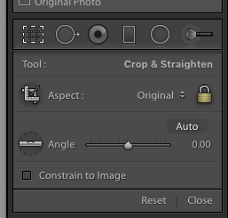 Advanced Lightroom editing: Crop Overlay Menu - Frenchly Photography