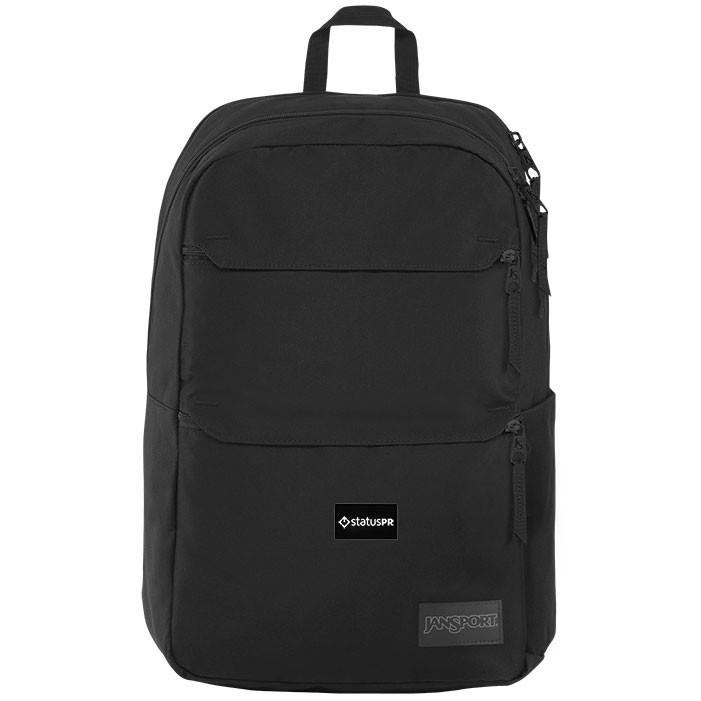 JanSport logo backpack