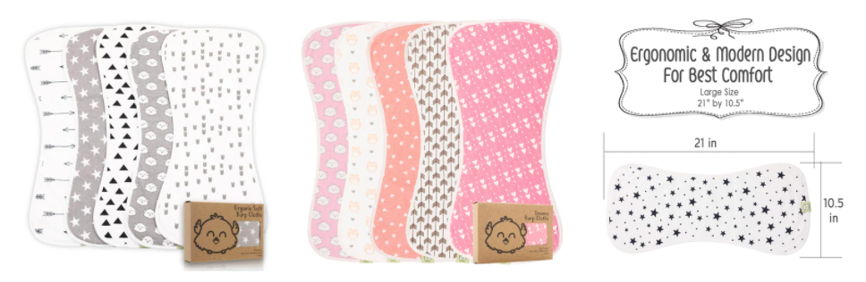 A Quick Guide To Baby Burp Cloths