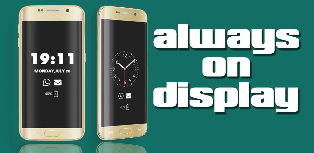 64+ Always On Display Amoled Apk - Super Always On Display