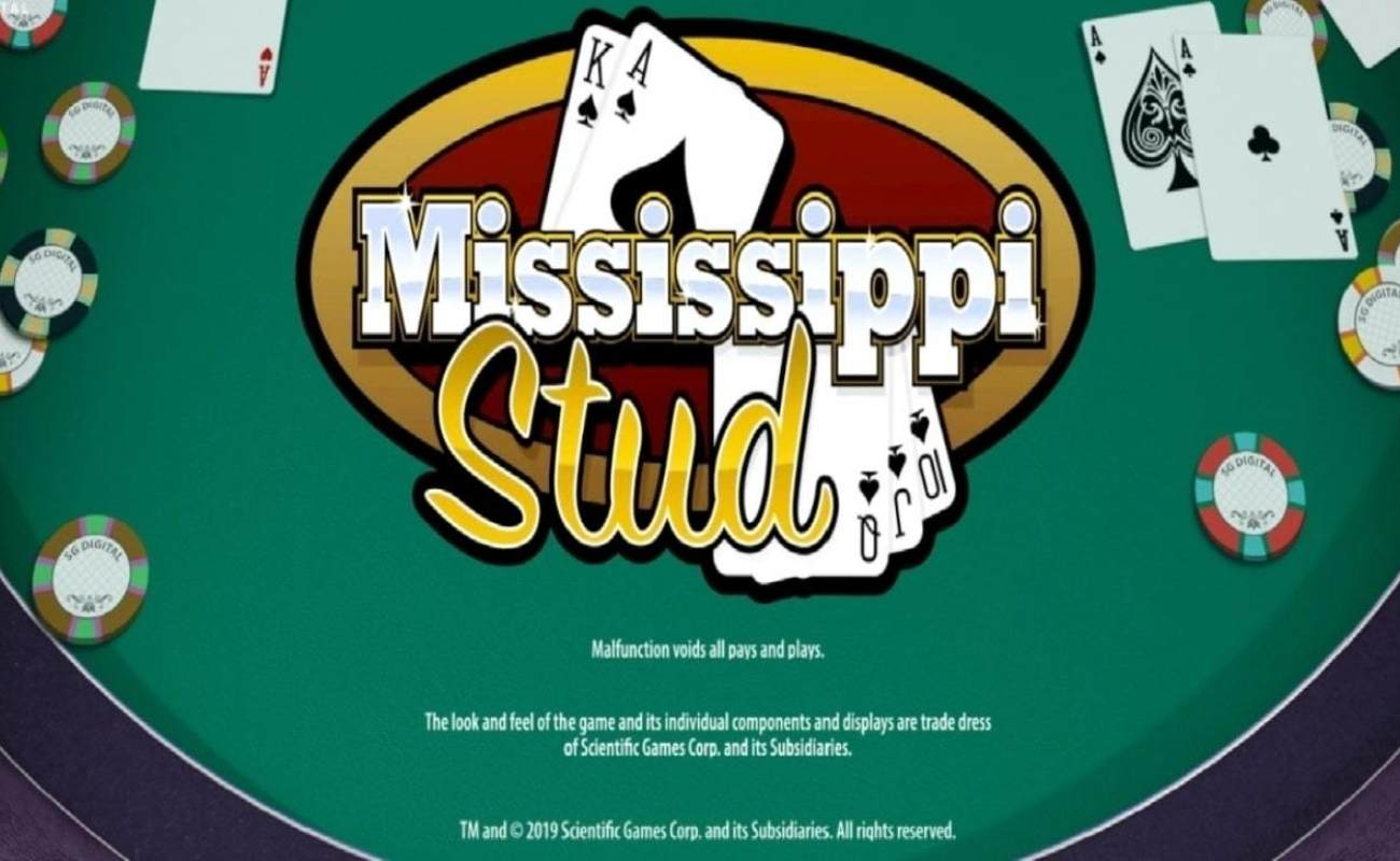 Mississippi Stud by NYX online slot casino game