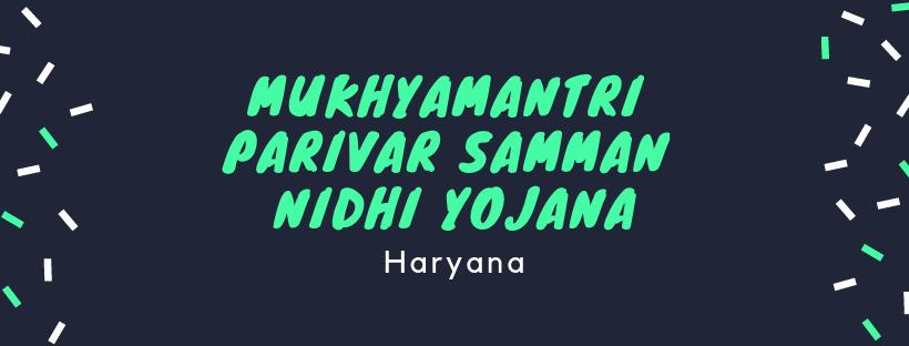 Image result for Haryana launches Mukhyamantri Parivar Samman Nidhi