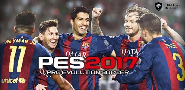 تحميل لعبة بيس 2017 للاندرويد  2017 Download Pes 2017- Pro Evolution Soccer