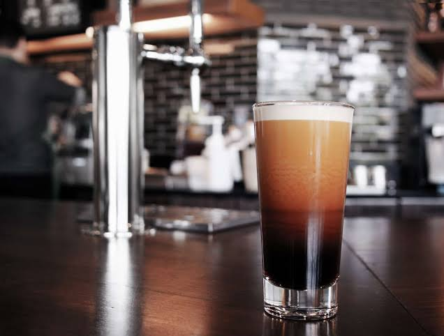 nitro cold brew by office libations