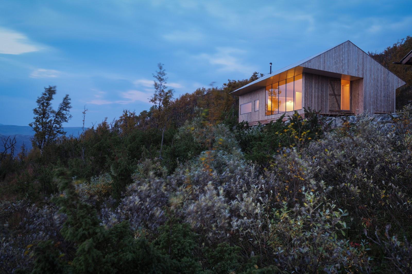 Kebony Character fasade hus kledning Hardangervidda