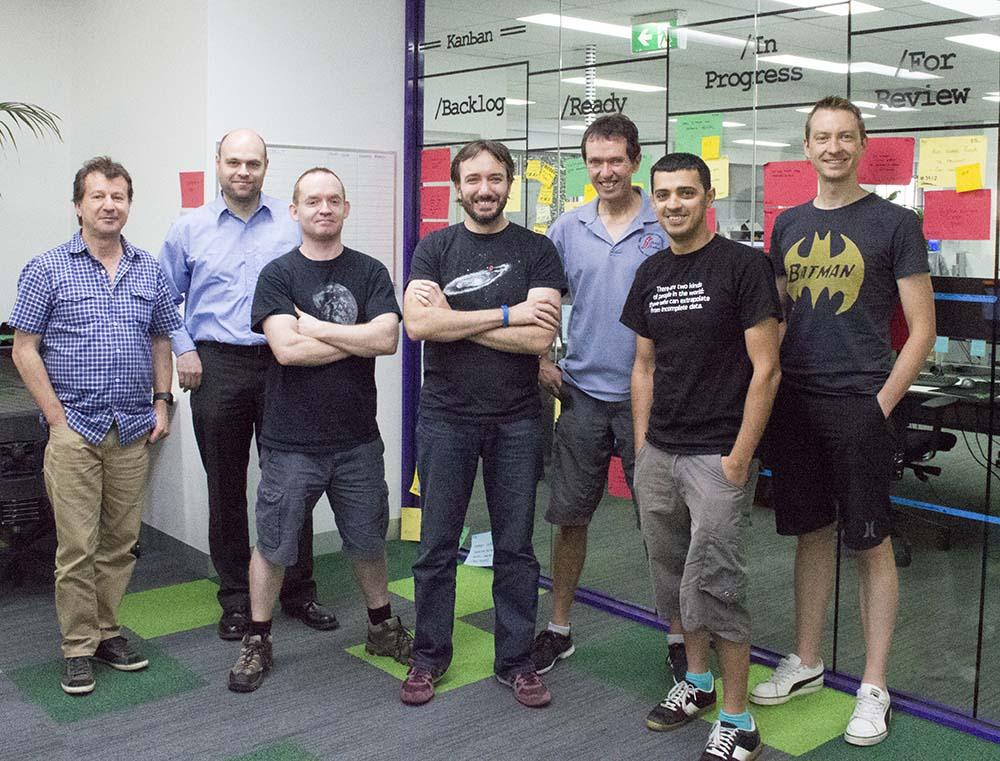 Our development team