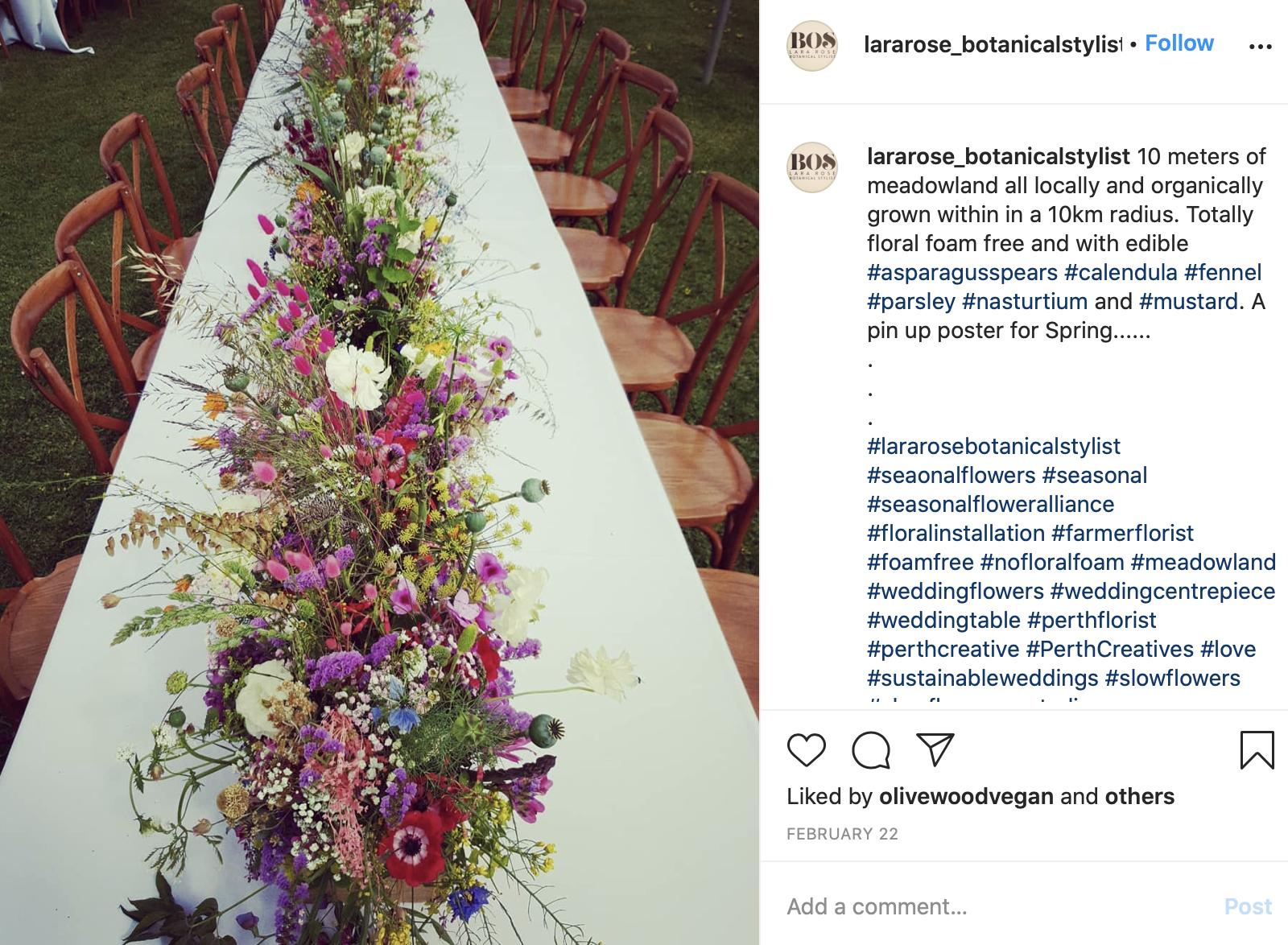 eco-friendly themed wedding