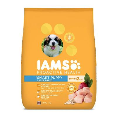IAMS Proactive Health Smart Puppy Large Breed Dog Food best dog foods in India