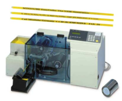 Easy Coder automatic printing machine.