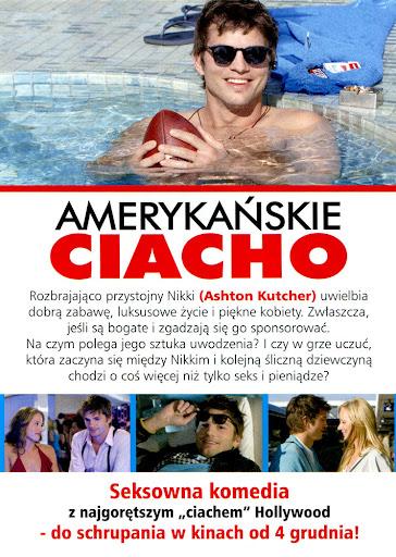 Tył ulotki filmu 'Amerykańskie Ciacho'