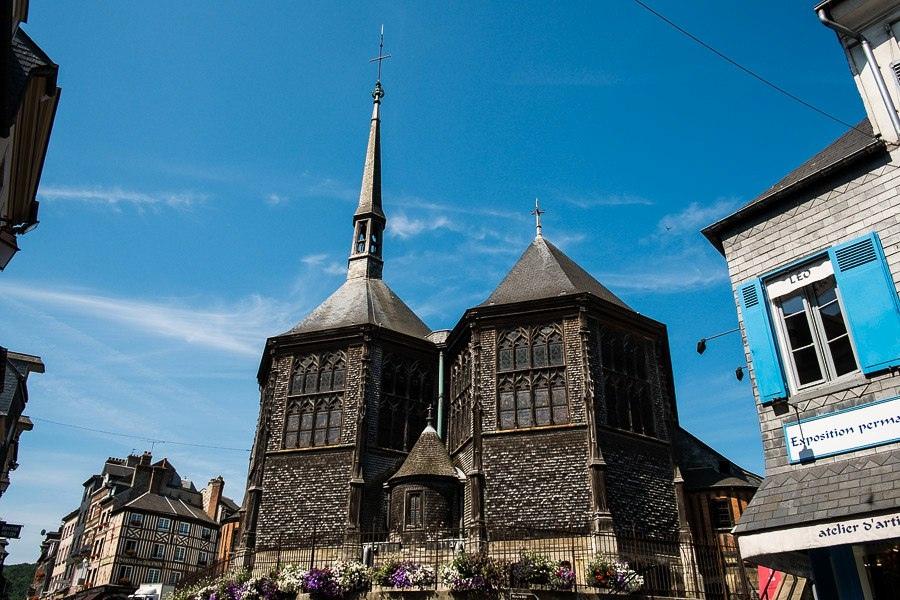 Церковь Святой Екатерины Нормандия