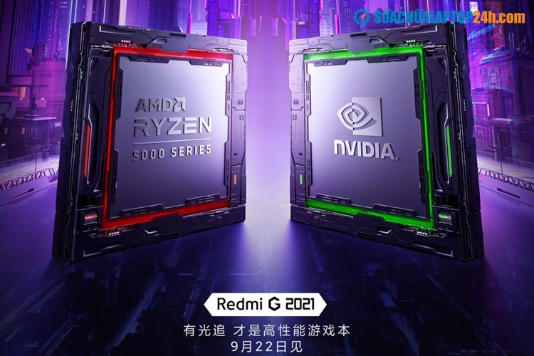Redmi G (2021) với RTX 3060 và CPU AMD Ryzen 5000 series