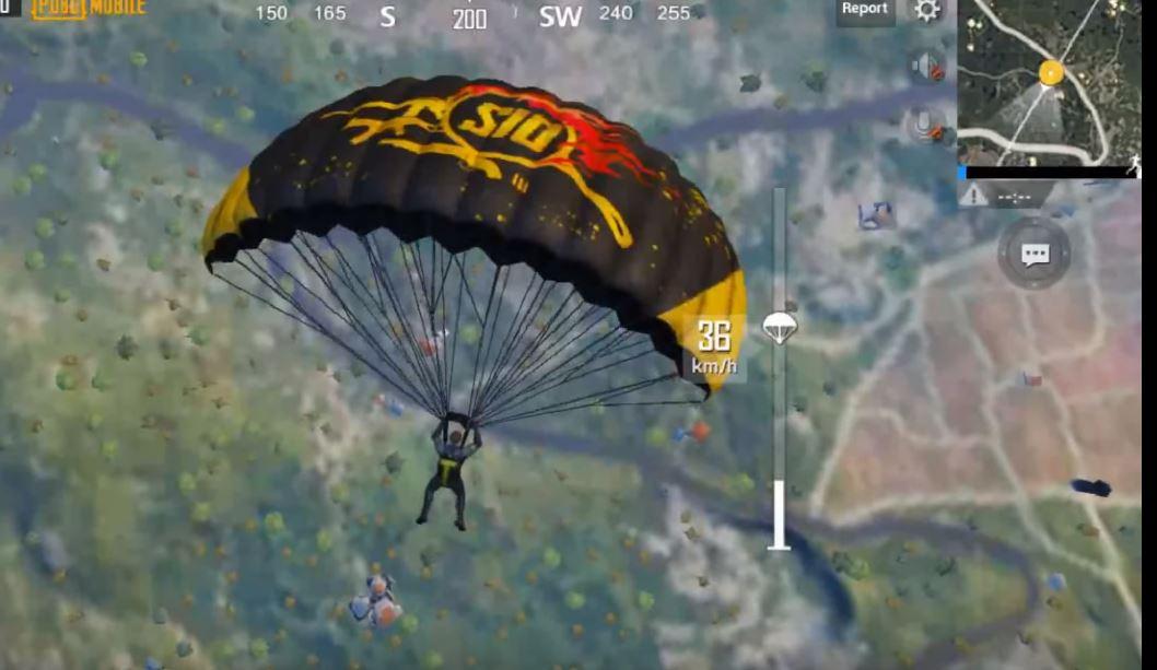 Pubg moblie season 10 new parachute