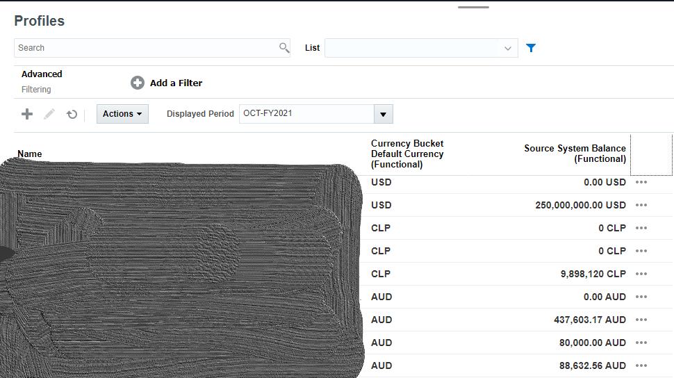 Oracle Qubix: ARCS Exporting Functional Currency Balances