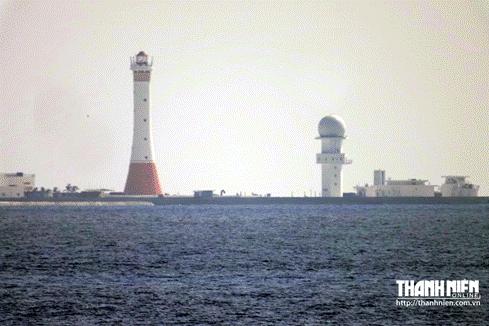 'Thành phố nổi' trái phép của Trung Quốc trên bãi Gạc Ma - ảnh 4