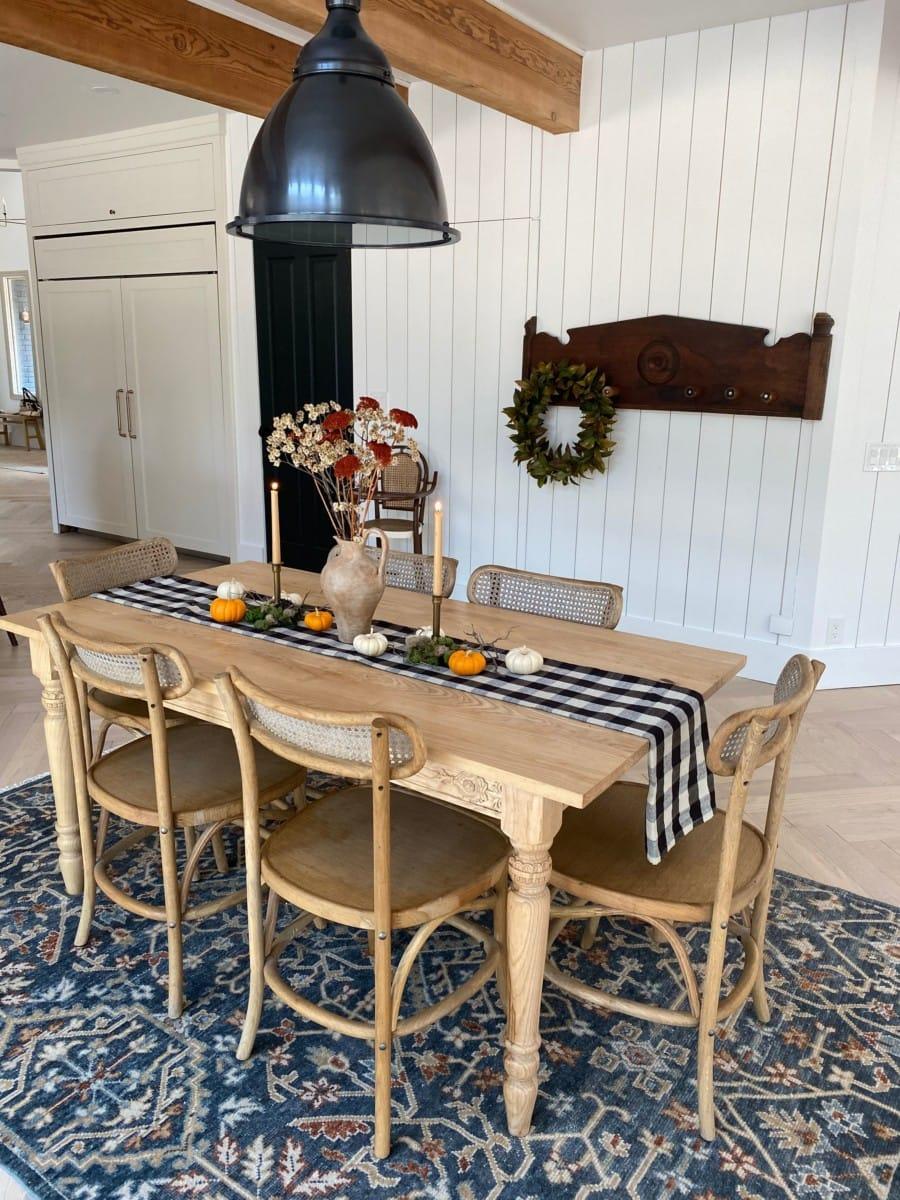 Fall DIY Decor Tablescape
