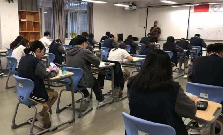 In China, teachers watch for any symptoms of Covid-19 and inform the school administration