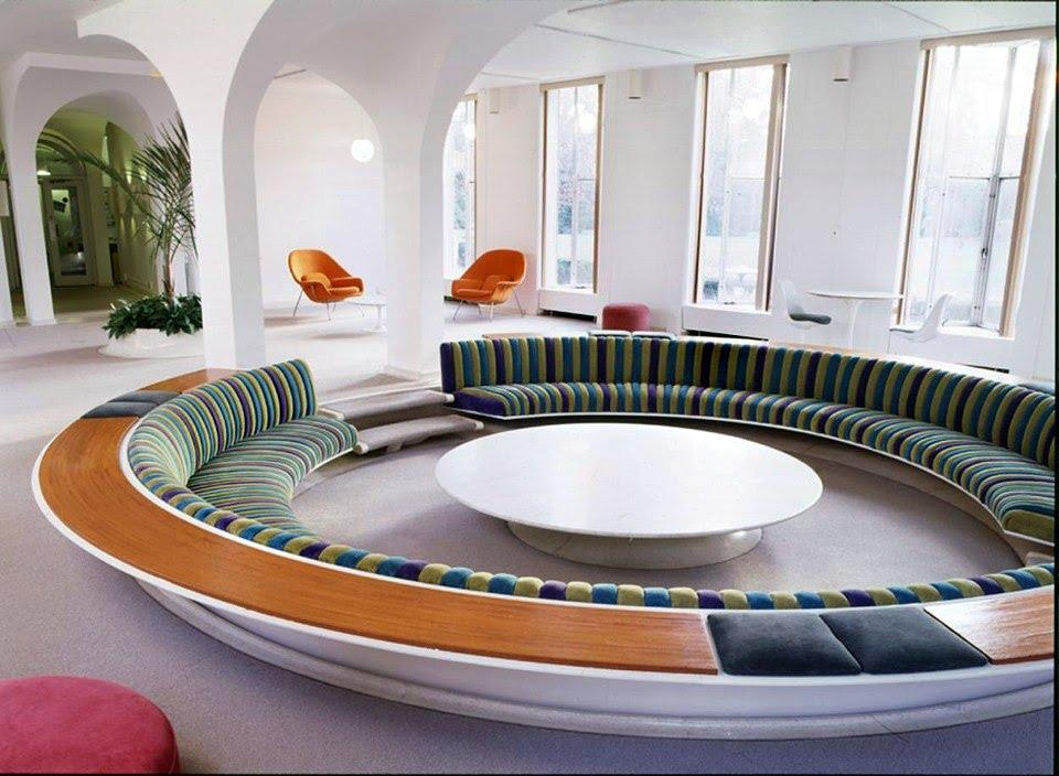 Image result for contemporary style conversation pit
