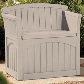 Suncast® - Patio Seats With Deck Boxes