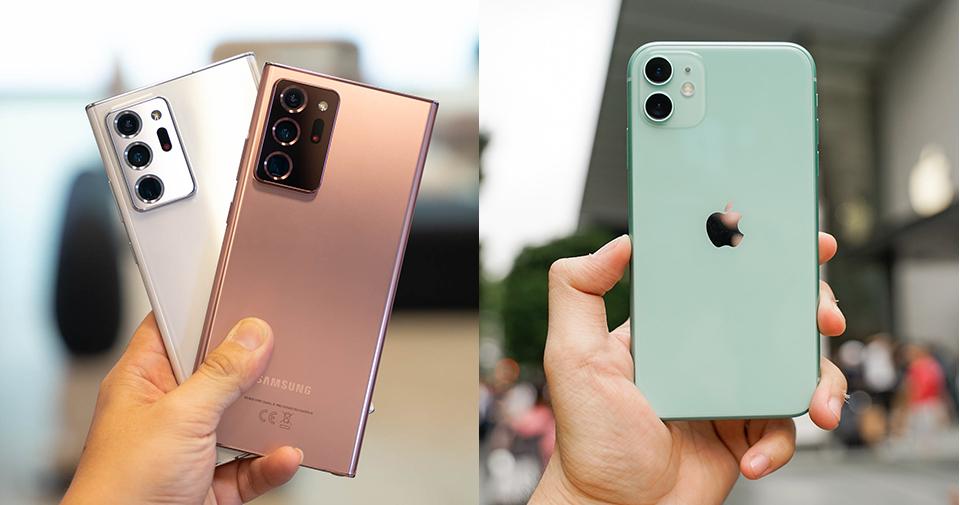 Hơn Kém 1.5 Triệu Đồng Nên Mua Galaxy Note 20 Ultra Hay iPhone 11?