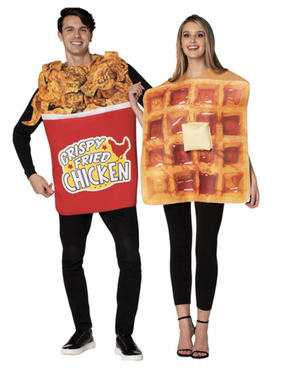 Chicken And Waffles Costume
