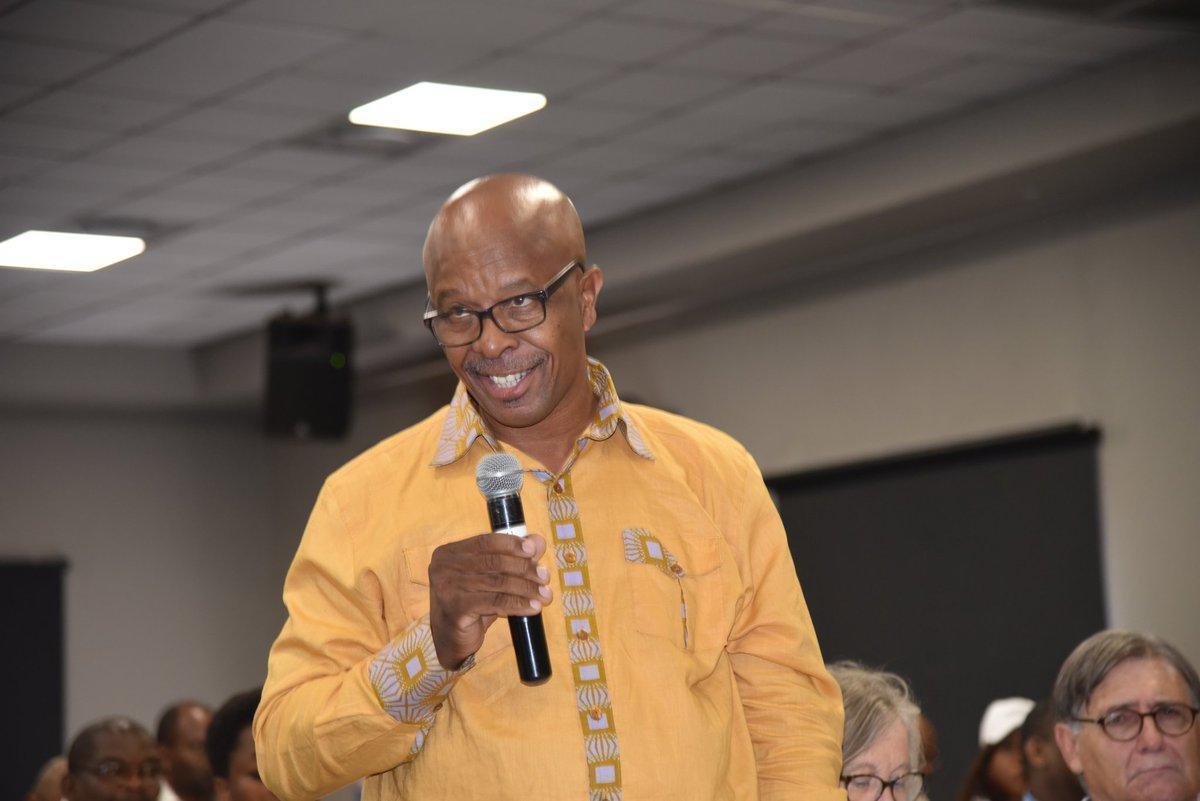 Figure 1 Siyabu Manona speaking at Land Reform debate