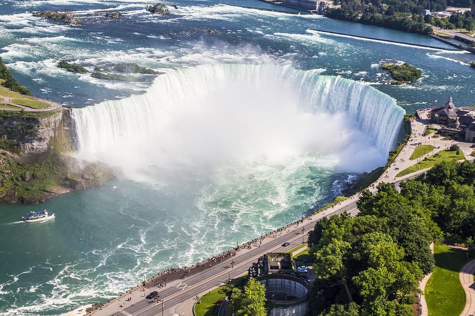 Niagara, Falls, Waterfall, Horseshoe, Canada, Mist