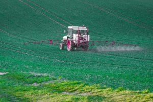 herbicide application