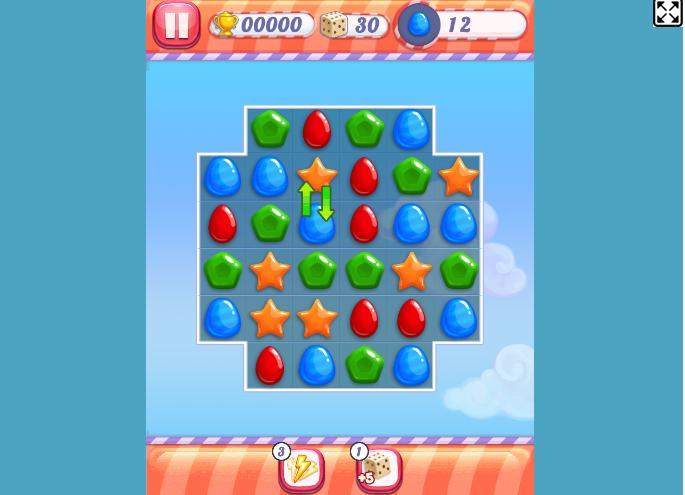 Game mưa kẹo ngọt - uGame