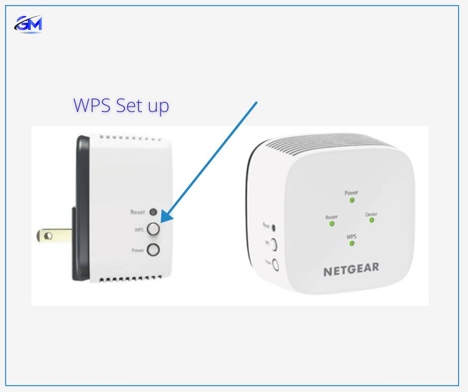 WPS Netgear extender set up