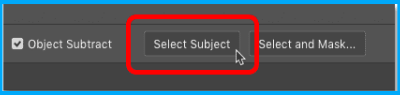 select subject button