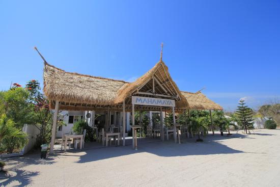 Mahamaya Restaurant in gili meno island