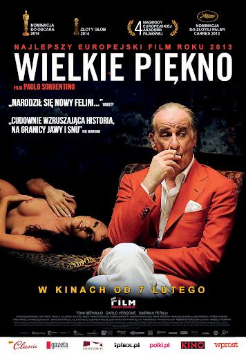 Polski plakat filmu 'Wielkie Piękno'