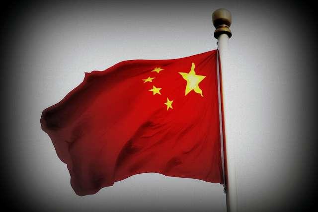 Chinese Flag. Credit: Philip Ja?genstedt via Flickr (CC BY 2.0) filter added.