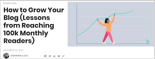 cách phát triển blog của bạn