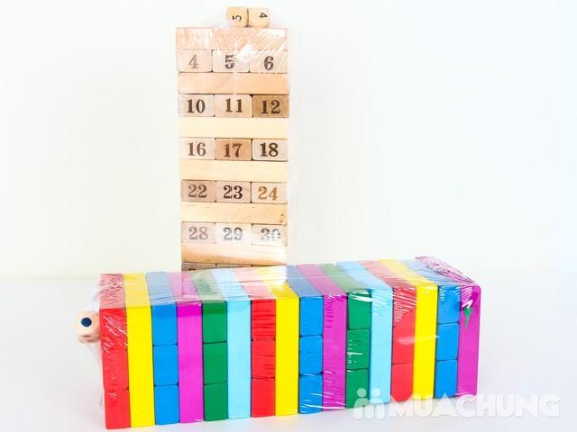 Rút gỗ 48 thanh mầu sắc cho bé - 4