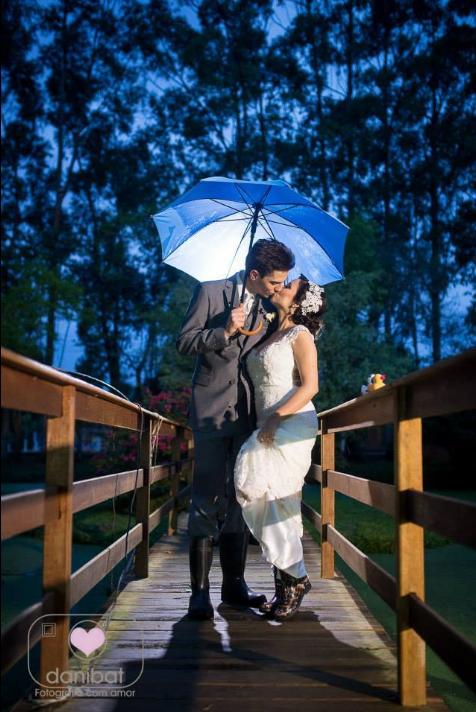 Foto de Casamento em Porto Alegre - Lago Cênico