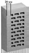 Облицовочный кирпич одинарный 250х120х65