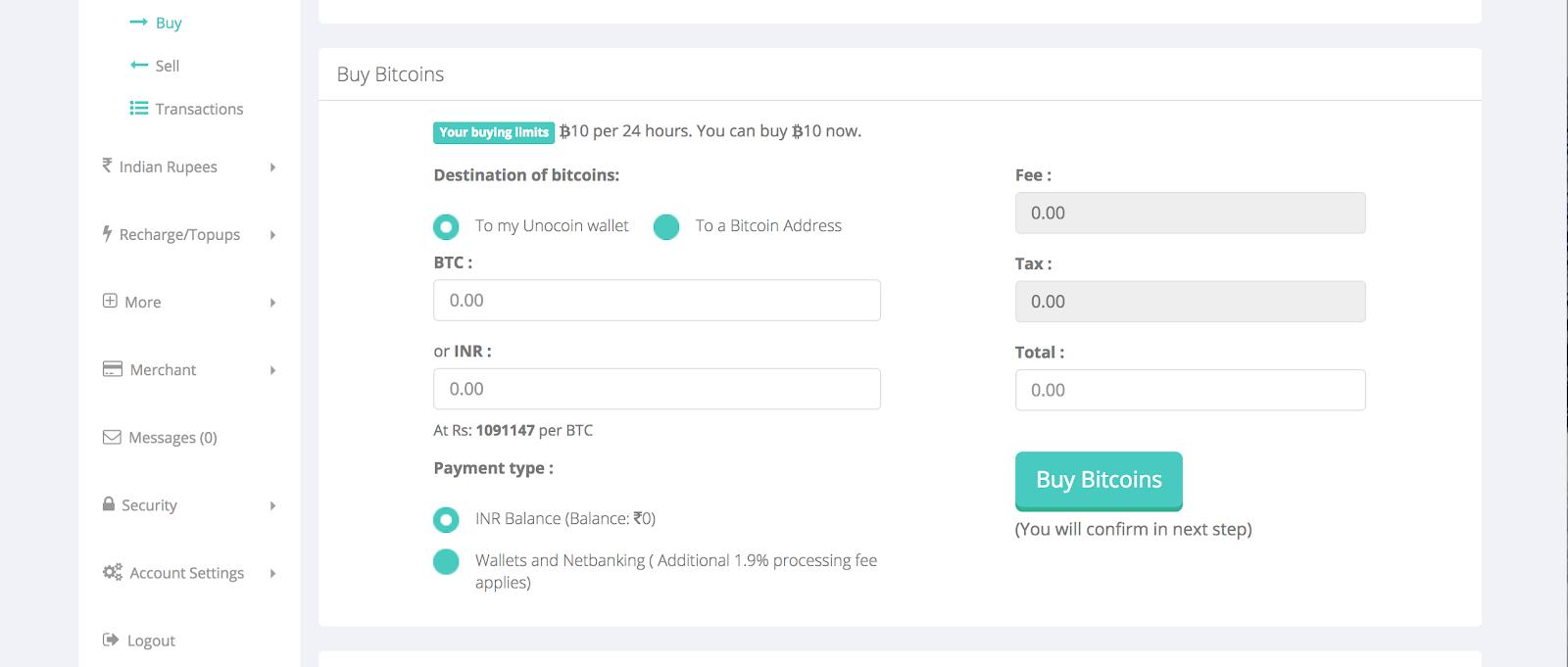 How to trade Bitcoin using Unocoin - India's leading Bitcoin company