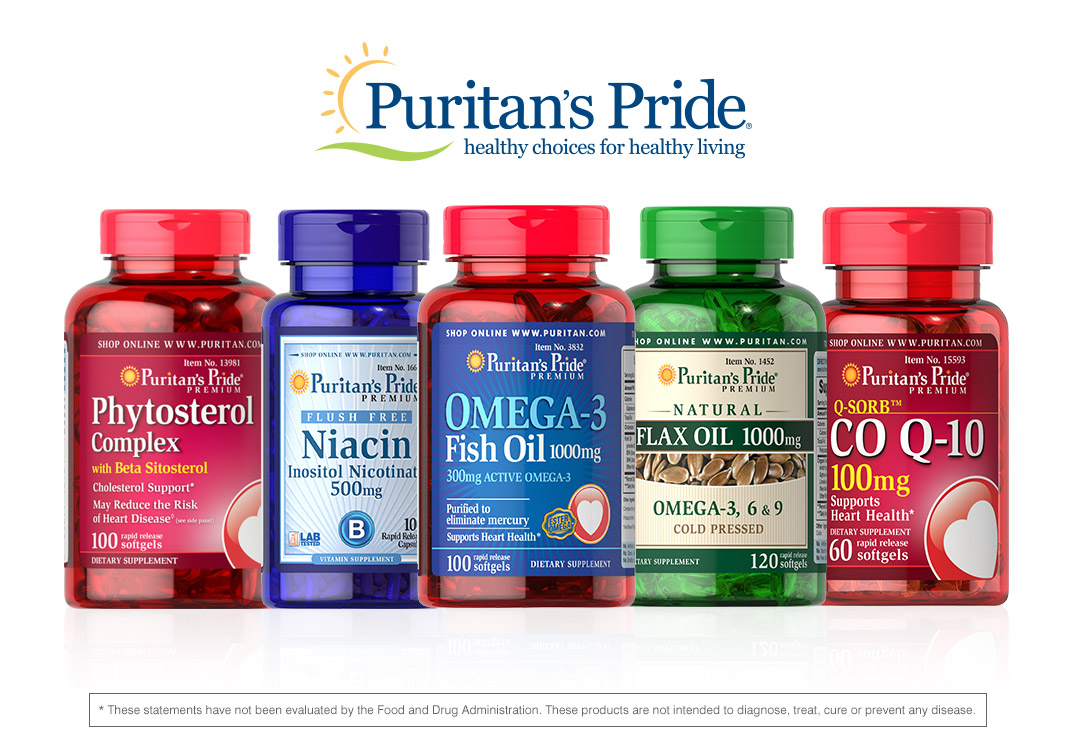 Puritan's Pride Heart Healthy Review amp; Giveaway – Miss Frugal