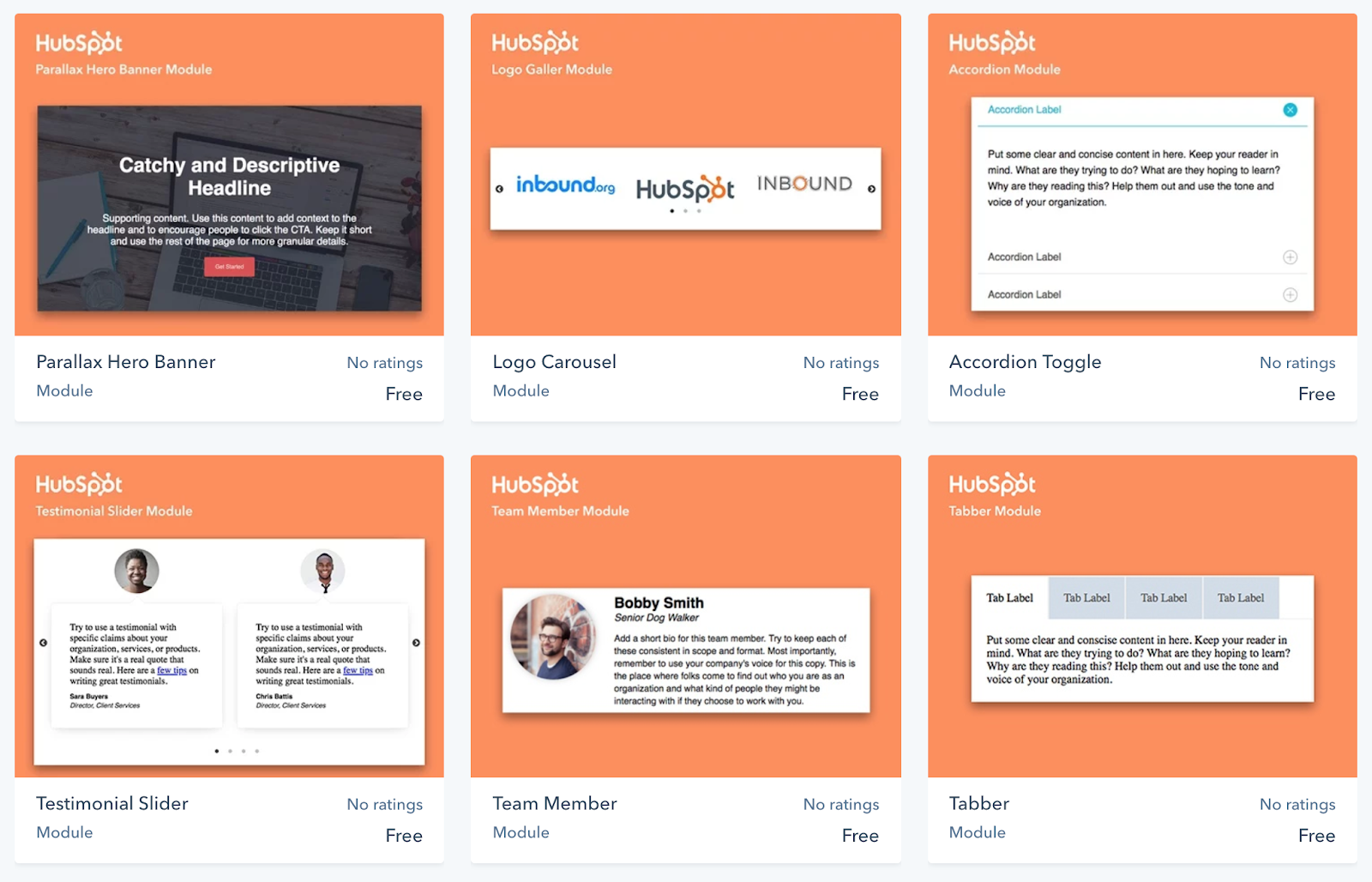 Hubspot Template Marketplace | Using Marketplace Modules In Your Templates