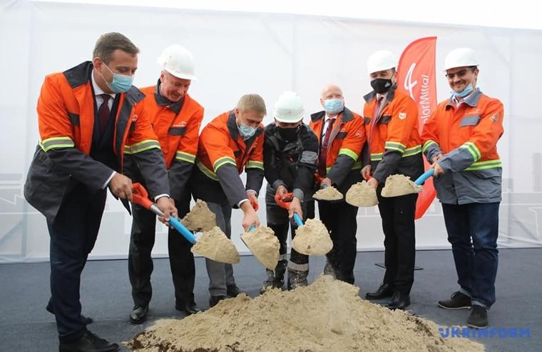 У жовтні 2020 року на «АрселорМіттал Кривий Ріг» дали старт проєкту побудови нової фабрики огрудкування. Інвестиції у будівництва нової фабрики перевищать $250 млн