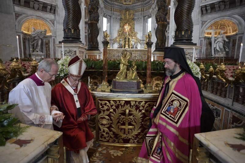 Αντιπροσωπεία από Φανάρι σήμερα στη θρονική Εορτή της Ρώμης