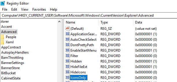 Alter the Registry on your Windows System