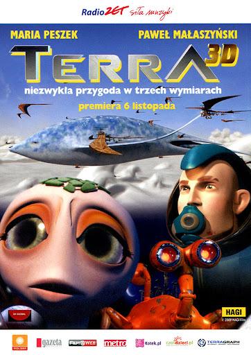 Przód ulotki filmu 'Terra'